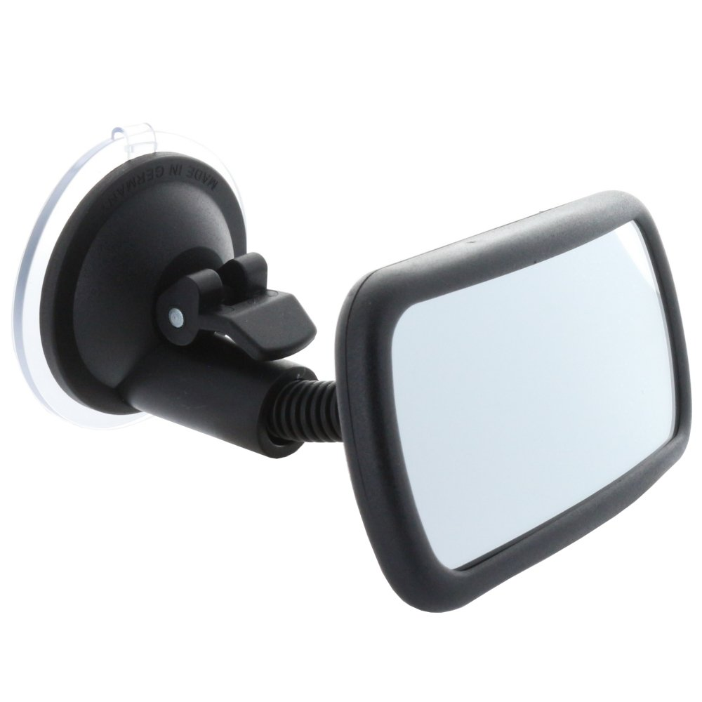 Sauger Befestigung an jeder Scheibe Smart Planet Hochwertiger Toter Winkel Spiegel//Convex Toter-Winkel Innenspiegel mit Schwanenhals