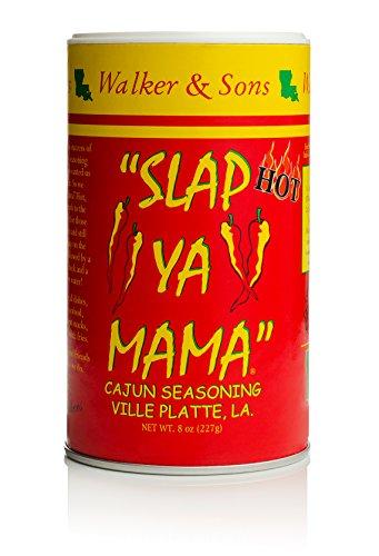 Slap Ya Mama Mixed Seasoning 6 Pack Variety Pack, 2 Cajun, 2 Cajun Hot, 2 White Pepper Blend, 8oz Each by ''SLAP YA MAMA'' (Image #6)
