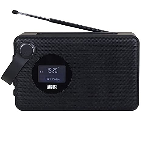 056fc68667a Bluetooth Bedside DAB Clock Radio - August MB415 - Wake to your Favourite  DAB+ and FM