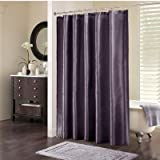 Madison Park Trade Winds Polyester Shower Curtain in Plum
