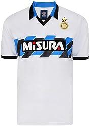 92bccdb6854 Score Draw Mens 1990 Inter Milan Retro Football Shirt