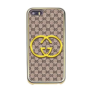 edb447d5d850 Gucci Customised Fine Original Vogue Gucci Logo Design Case For Iphone 5 5s Phone  Case  Amazon.co.uk  Electronics