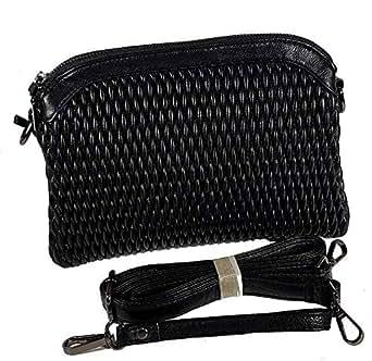 Vernika Bag For Women,Black - Crossbody Bags