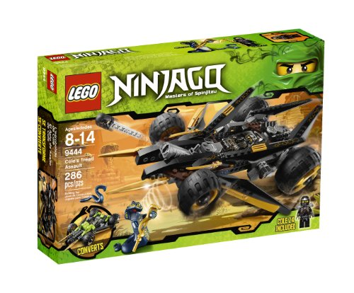 - LEGO Ninjago Cole's Tread Assault 9444