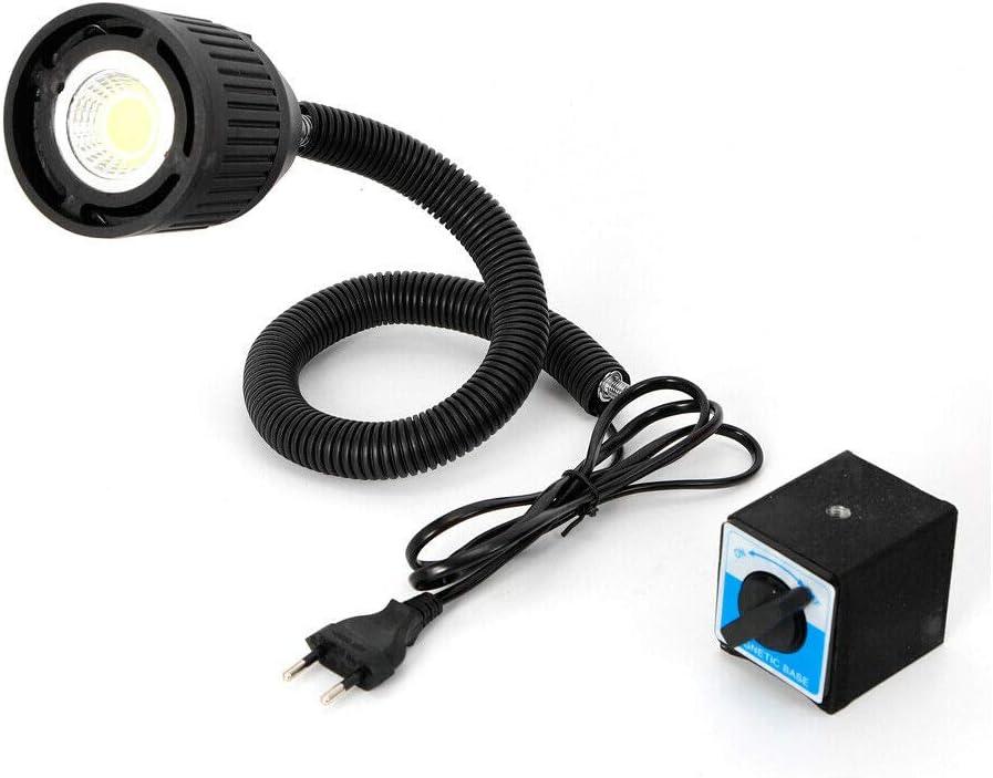 Generic Aboyia Neu 220V CNC Maschinenlampe Magnetische Arbeitsleuchte LED Flexibellicht Arm