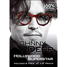 Johnny Depp: Hollywood Superstar, Includes 6 FREE 10 x 8 Prints