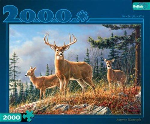 Autumn Whitetails 2000 Piece Puzzle (Artist - Hautman) by Buffalo Games