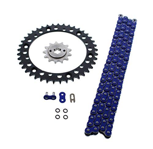 - Blue O Ring Chain & Sprocket Black 13/40 92L 1988-06 Yamaha 200 Blaster YFS200