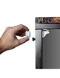 Safety Baby Magnetic Cabinet Locks - No Tools Or Screws Needed (4 Locks + 1 Key) BOBEBE Online Baby Store From New York to Miami and Los Angeles