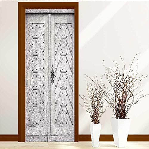 Analisahome Static Cling Glass Film Old for Usage Privacy Window Film Decorative Window Film W38.5 x H77 by Analisahome