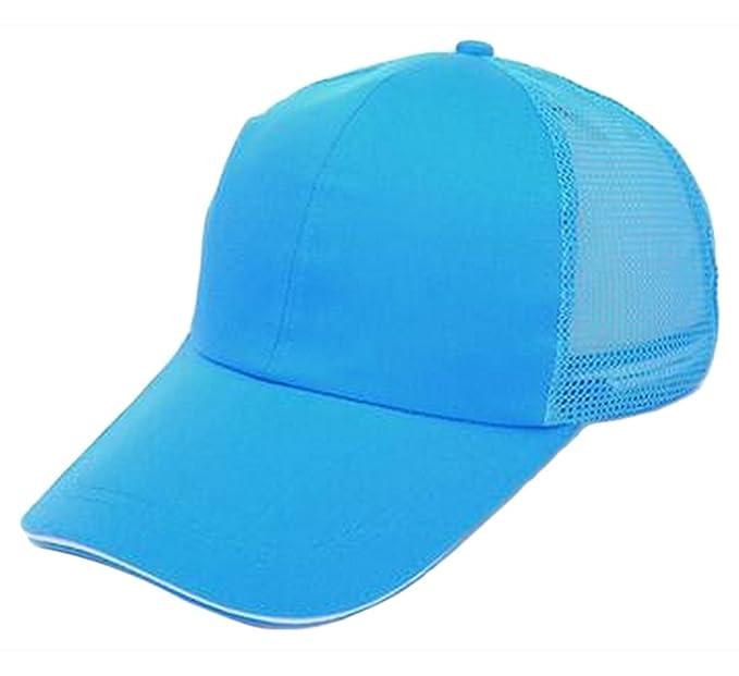 Leisial Gorra de Béisbol de Viajes Casquillo del Acoplamiento Casual Hats  Hip-Hop Sombrero Sol al Aire Libre Tenis Deporte Golf Verano para Hombre  Mujer ... 68424747da5