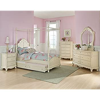 Homelegance Cinderella Full Size Canopy Bedroom Set with Trundle