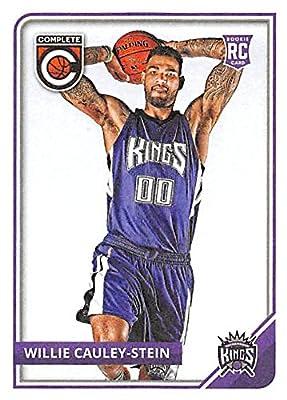 Willie Cauley-Stein basketball card (Kentucky, Sacramento Kings) 2015 Panini Complete #308 Rookie