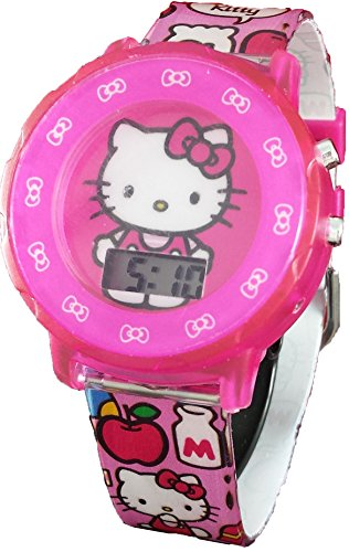 Hello Kitty Girl's Pink Digital Light Up Watch HK4039 by SANRIO