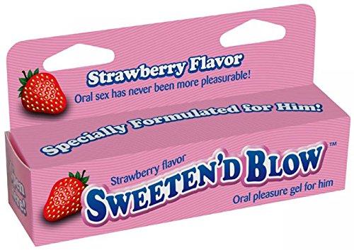 Little Genie Productions Sweeten D O Oral Pleasure Gel, Strawberry, 1.5 Ounce