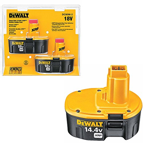 DeWalt DC9096-2 18V XRP Battery Pack 2-Pk & DeWalt DC9091 144V XRP Battery Pack