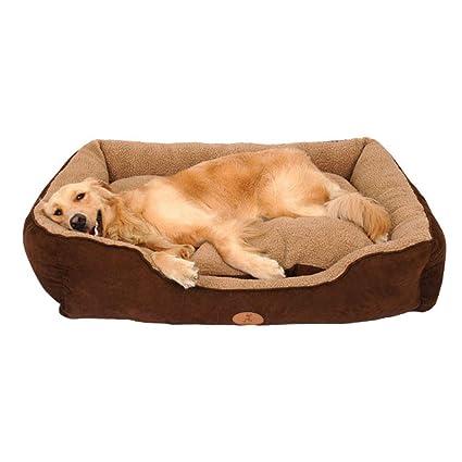 Cama de Felpa Suave de Lujo Cama Lavable de Lujo cómoda Cama para Perro Waterloo Cojín