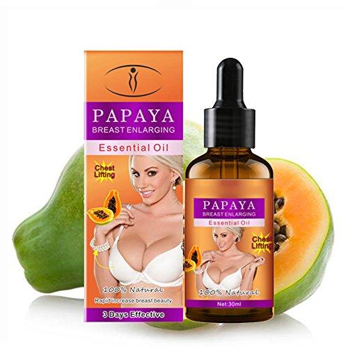 Papaya Breast Enhancement Essential Oil, Bust Firming Lifting Breast Enlargement Essential Oil - 30 ml