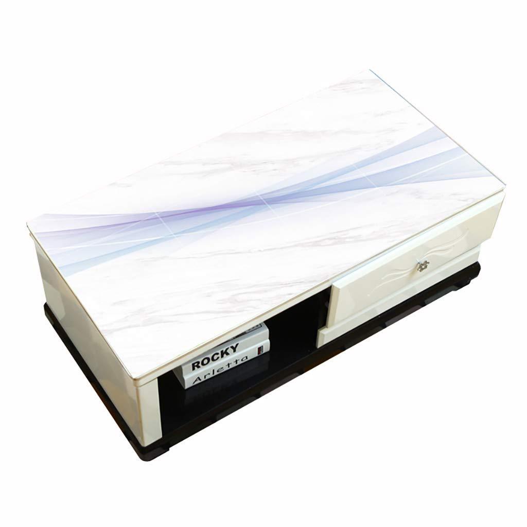 テーブルクロスポリ塩化ビニール透明で柔らかいプラスチック製のテーブルクロス防汚防汚茶テーブルクロスコーヒーテーブルクロス厚さ1.5ミリメートル (サイズ さいず : 80×140 CM) 80×140 CM  B07RLY2PD6