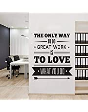 Quotes for Office, Wall Decals for Living Room, Home Decor, Waterproof Wall Stickers , 2724475951237