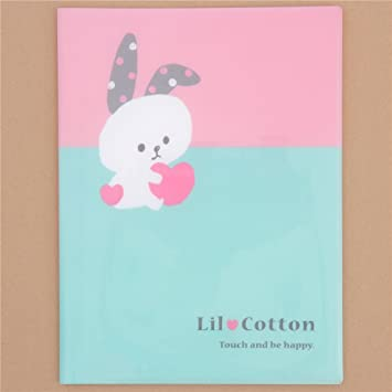 Carpeta archivador A4 rosa verde lindo conejo panda gato 10 apartados Mind Wave: Amazon.es: Hogar