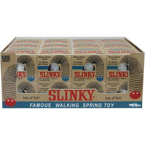 Purple Slinky - The Original Slinky Brand Metal Slinky in Blue Retro Box