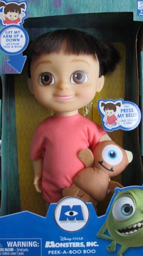 Disney/Pixar MONSTER'S INC Peek-A-Boo 'TALKING' BOO DOLL 12