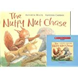 The Nutty Nut Chase Book and Audio CD Set (Paperback Book and Audio CD)