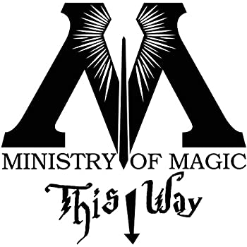 Amazon Com Harry Potter Vinyl Decal Sticker Ministry Of