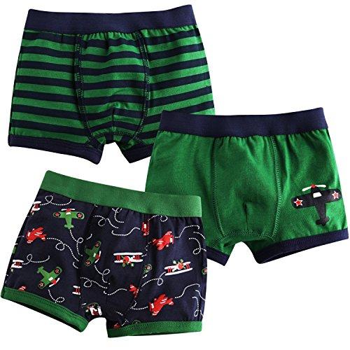 Jojobaby Toddler 2T 7T 3 pack Underwear product image