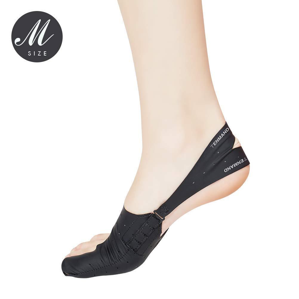 Lzour Adjustable Elastic Bunion Corrector 24h Day Night Protector Sleeves Toe Straightener Socks Treat Pain Relief Hallux Valgus Hammer Toe Joint Easy Wear