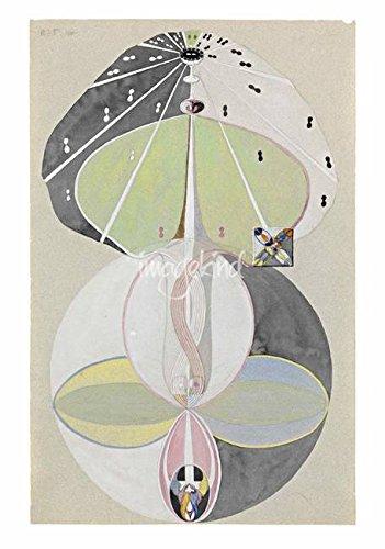 「ツリー壁アートプリントの知識no。5ヒルマアフクリント、1913 -1915 by天体イメージ 22