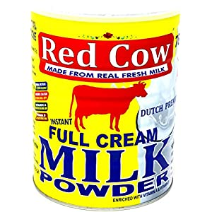 Red Cow Full Cream Milk Powder 900g, Made from Fresh Milk, Dutch Premium, Product of Netherlands