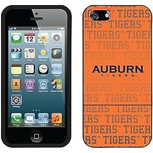 fahion caseiphone 6 4.7 Black Slider Case with Auburn University Repeating 2 Design