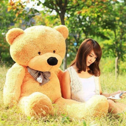 "47''/120cm"" light brown""Teddy Bear Giant cute Big Stuffed Animal Plush Soft gift"