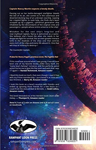 amazon the counterfeit captain henry vogel space opera
