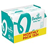 Pampers Baby Dry Windeln, Gr.4+ (Maxi+) 9-18 kg, M…