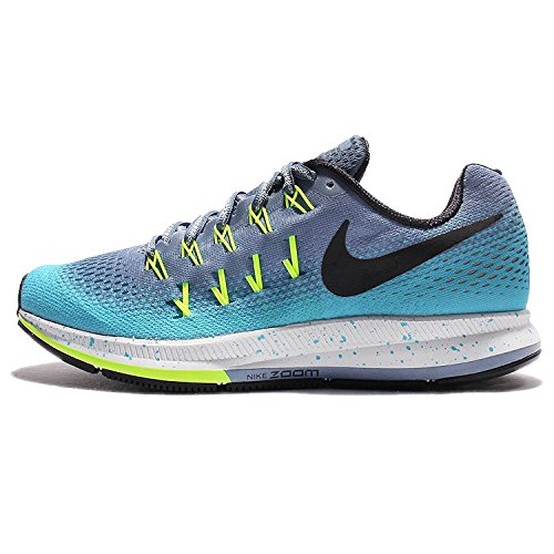 NIKE Women's Air Zoom Pegasus 33 Ocean Fog/Black-gamma Blue-volt