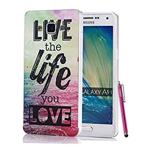 Samsung Galaxy A5 Case,FIBEST Ultra-Thin Aluminum Alloy Metal Frame Bumper with Stylish Design PC Back Cover Case for Samsung Galaxy A5 A500