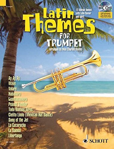 LATIN THEMES FOR TRUMPET: SCHOTT MASTER PLAY-ALONG SERIES BOOK/CD ebook