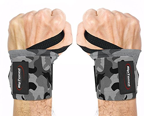 Rip Toned Wrist Wraps Professional product image