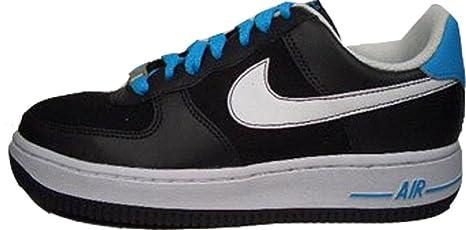 42f6766c2dced Nike Air Force 1 Low GS Colour Negro-Blanco-Azul 314192-017 Talla ...