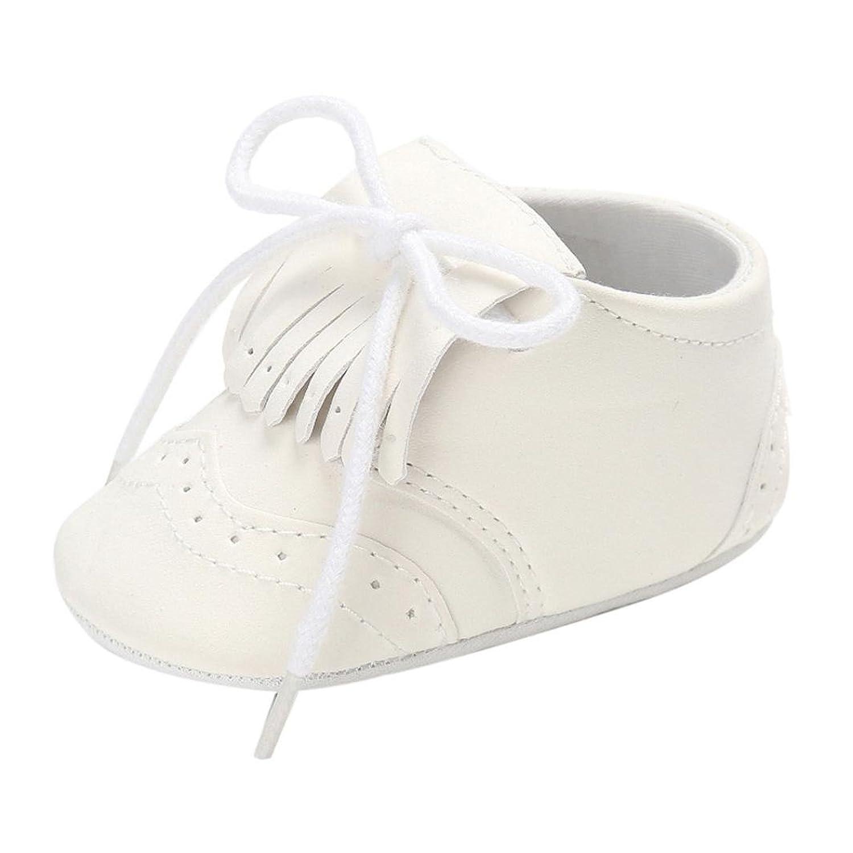 Zapatos de bebé para bebés Botas para niños Chicas Chicos Borla Suela