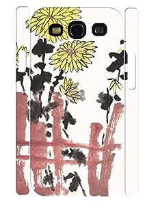 Design Pretty Drawing Daisy Anti Shock Phone Slim Skin Case for Samsung Galaxy S3 I9300
