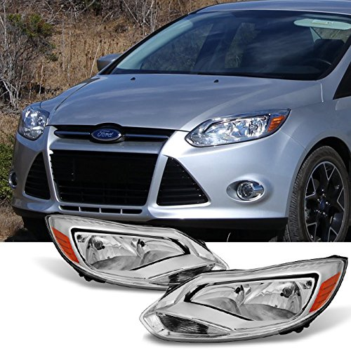 - For 2012-2014 Ford Focus Left Driver + Right Passenger Replacement Head Lights Front Lamps Assembly Pair