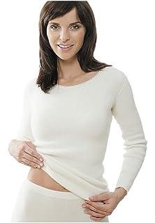 4ba43191f74f58 Medima Classic Damen-Hemd ohne Arm Plus Seide weiß - Größe M: Amazon ...