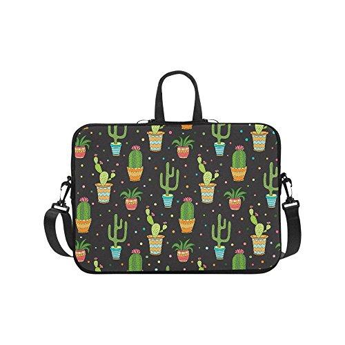 Laptop Sleeves 15.6 Inch Cactus Flowers Laptop Bag