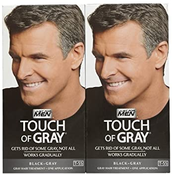 Just For Men Touch of Gray - Black - 2 Pack