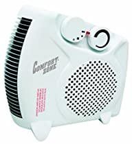 Comfort Zone Deluxe convertible heater/fan