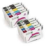 FreeSUB Remanufactured 69 Ink Cartridge, High Yield 10 Pack Used For WorkForce 30 40 600 610 615 1100 1300 Stylus C120 CX5000 CX6000 CX8400 CX9400 NX115 NX215 NX305 NX400 NX410 NX415 NX515